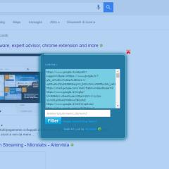 Bookmarklet | Grab All Link | Google Parser | Bing Parser