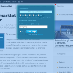 Bookmarklet | Admin Page Finder