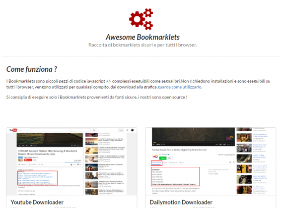 Youtube & Dailymotion Bookmarklets