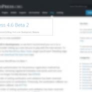 WordPress 4.6 Beta 2