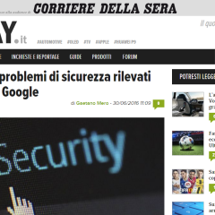 Symantec: problemi di sicurezza rilevati dal team di Google | DDay.it