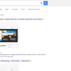 Google Search Preview – Chrome Web Store