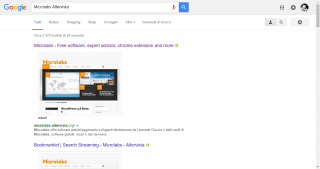 Risultati Google con Search Preview